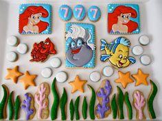 El cuento de la Sirenita en galletas de Oh, Sugar! Events