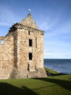 Photographic Print: St Andrews Castle, St Andrews Poster by Mark Sunderland : 24x18in