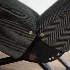 Early P40 Adjustable Lounge Chair by Osvaldo Borsani image 7