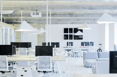 Wix Lithuania. Awesome office design.