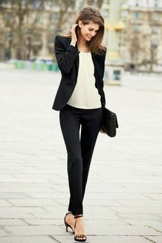 Stylish Work Outfits Ideas With Flats Outfits Styler - Stylish Work Out. Stylish Work Outfits Ideas With Flats Outfits Styler - Stylish Work Outfits Ideas With Flats Outfits Styler - Fashion For Petite Women, Womens Fashion Casual Summer, Office Fashion Women, Fashion Mode, Look Fashion, Cheap Fashion, Business Casual Womens Fashion, Fashion Hacks, Fashion Quotes