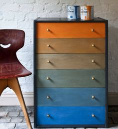 PAUL KLEE INSPIRED DRESSER Homes and Antiques | The magazine where classic meets contemporary
