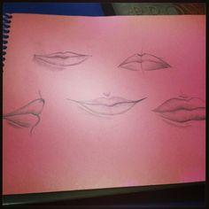 Estudo de lábios
