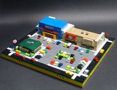https://flic.kr/p/Pnwm3y   Micropolis - Commercial Properties   Back in August, I read this article on Keith Goldman's Manifesto.  Seeing the micro work done by Chris lit a fire under my butt and completely derailed my annual 30-day sorting challenge.  Since then, I've been constantly revisiting my Micropolis modules and sidelining other projects.  As I am now desperately lacking the bley to make sidewalks (see Trench), I am forced to take a break.  This hiatus reminded me that I haven't…