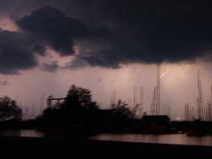 Gewitterstimmung Blitz, Clouds, Celestial, Sunset, Outdoor, Thunderstorms, Mood, Outdoors, Sunsets