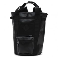 The Rove Convertible Tote Bag is a 100% TPU convertible tote with hideaway backpack straps, a zipper closure at the main compartment, and a small exterior zipper pocket. It has a 30-liter capacity.