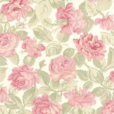 Romantic Rose Fabric  Moda 3725 11  3 Sisters by Jambearies
