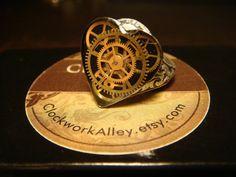 Victorian Style Steampunk Clockwork Heart by ClockworkAlley, $22.00