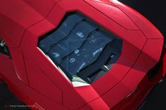 Lamborghini Aventador LP-700-4. The V12 engine bay. This is where the bull is angry!