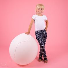 Spot on! Kids navy with white spot cotton trousers. Lightweight and easy to wear oh and comfy too! Emily thinks so. Creative Kids, Stylish Dresses, Jeggings, Cool T Shirts, Little Ones, Boys, Girls, Girl Outfits, Trousers