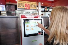 """McDonald's tests """"build your own burger"""" touchscreen kiosk in Australia. Do you think it will work, or are they just trying to compete with the Chipotle's of the world, unsuccessfully? #RetailInnovation #CustomConcepts"""