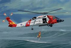 Coast Guard / / USA / Wojskowe / After Second World War / Helicopters / Scale models / Coast Guard Rescue Swimmer, Coast Guard Helicopter, Helicopter Pilots, Military Helicopter, Military Aircraft, Coast Gaurd, Coast Guard Ships, Coast Guard Cutter, F22 Raptor