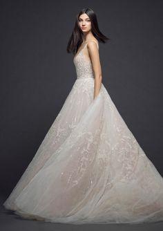 Courtesy of Lazaro Wedding Dresses; www.jlmcouture.com/Lazaro; Wedding dress idea.
