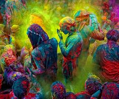 Indian colour fight -Holly festival