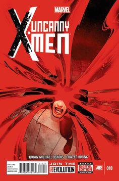 Uncanny X-Men #010 - Cover by Frazer Irving ----