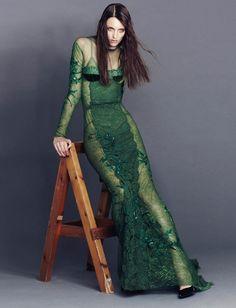 Lace & Tea > {ford woman} georgina by emma tempest