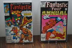 2 Fantastic Four comics from 1980's   Free Shipping by HobbyHaven, $4.00