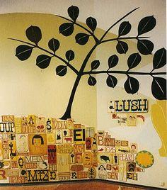 Margaret Kilgallen wall