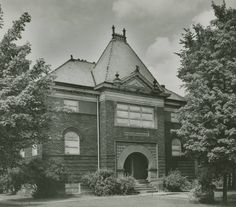 Hood Museum, Alma College: Archival photographs.