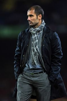 Josep Guardiola, Barcelona's Soccer Coach--this dude gots some style.