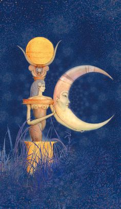 ISIS AND THE MOON BY REINHARD SCHMID