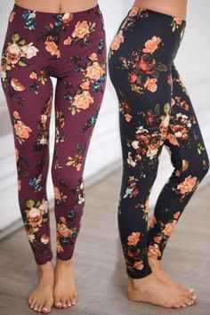 Would love some soft (cheap) floral leggings for lounging around the house. Would love some soft (cheap) floral leggings for lounging around the house. Fall Winter Outfits, Summer Outfits, Casual Outfits, Cute Outfits, Printed Leggings, Women's Leggings, Black Leggings, Tribal Leggings, Leggings Style