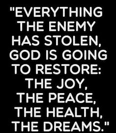 God is Good. God is Love. The enemy is nothing and destroys all things beautiful. I love you, sweet Jesus. Bible Quotes, Me Quotes, Bible Verses, Godly Qoutes, Wealth Quotes, Biblical Quotes, Religious Quotes, Spiritual Quotes, Adonai Elohim