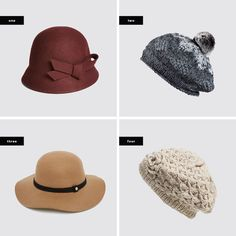 Hats for square face shapes!  #winterhats