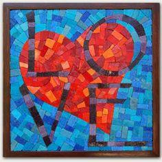 LOVE - 11.25 x 11.25 INCH, UNGROUTED, $300 @Svajunas Jarmala Jarmala Jarmala Petreikis Quarter  (set $750)