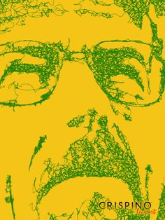 Breaking Bad - Handmade portrait with the single lines technique.  Please find more on www.CrispinoLineArt.com or www.etsy.com/shop/CrispinoLineArt
