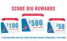 Free Domino's pizza is going up for grabs! Hurry and opt in now before it's too late. (I promise I'll share a slice if I win free pizza for a year*!)