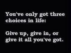 3 choices to make :)