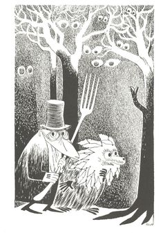 The Hunting of the Snark: The Beaver's Lesson, illustrated by Tove Jansson Lewis Carroll, Hobbit, Tove Jansson, Scratchboard, Comic, Story Inspiration, Illustrators, Fantasy Art, Fairy Tales