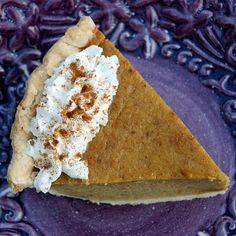 Spiced Cushaw Pie--interesting