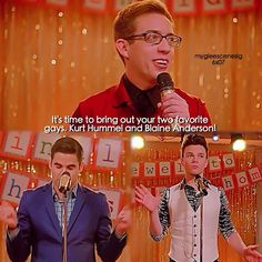 """#Glee 6x07 """"Transitioning"""" - Artie, Blaine and Kurt"""