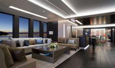 Raymond Langton Interior  #yacht