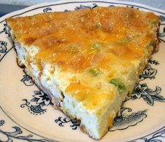 BACON CHEESE FRITTATA - Linda's Low Carb Menus & Recipes