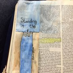Ezekiel 22:30 / leighannphillips Ezekiel Bible, Psalm 13, Worship The Lord, Illustrated Faith, Bible Journal, Bible Art, Spiritual Growth, Art Journaling, Doodle Art