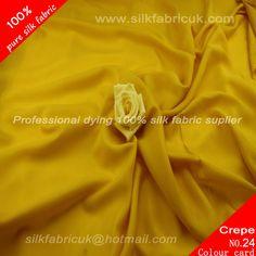 14mm silk crepe de chine fabric-golden http://www.silkfabricuk.com/14mm-silk-crepe-de-chine-fabricgolden-p-401.html