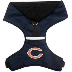 Chicago Bears Dog Hoodie Harness - Pets First Show your passion for your  favorite team as your pet sports this elegant officially licensed NFL  hooded ... ef6c68156