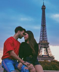 Cute Relationship Goals, Cute Relationships, Nicole Garcia, Cute Couples, Couple Goals, Paris Skyline, Real Life, Chill, Boyfriend