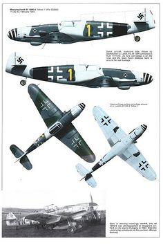 Bf 109 G, und K Varianten - Aircraft design Ww2 Aircraft, Fighter Aircraft, Military Aircraft, Luftwaffe, Air Fighter, Fighter Jets, Bf 109 K4, Focke Wulf 190, Photo Avion