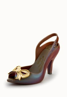 Vivienne Westwood Lady Dragon with Bow Grey/Gold