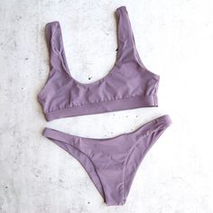 kylie x alexis - bikini separates - more colors - S / TOP / PURPLE