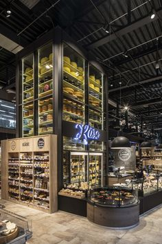 Shop Interior Design, Retail Design, Store Design, Cafe Organic, Bio Food, Gourmet Food Store, Meat Shop, Food Retail, Cheese Shop