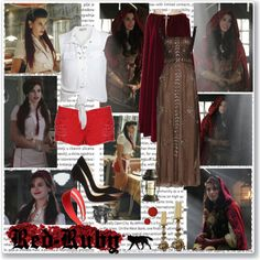 """""""Red Ruby- Of Once Upon A Time"""" by opelazar on Polyvore"""