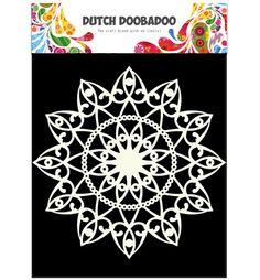 Dutch Doobadoo A4 Template - Circle