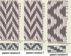 Designing tablet weaving patterns