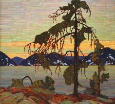 Tom Thomson and the Group of Seven – paddled past this scene on O.S.A. lake in Killarney.