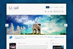 Liquid - Free Wordpress Template